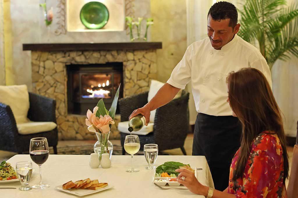 Restaurante en Valle Escondido Resort en Boquete, Panama